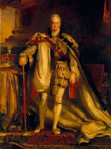 Sir David Wilkie - Rei william iv ( 1765 1837 )