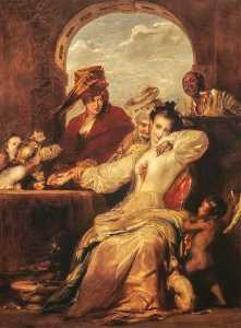 David Wilkie Wynfield - Josephine e o cartomante