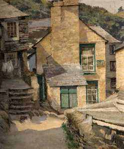 William Harold Dudley - o 'Three Pilchards' , Polperro