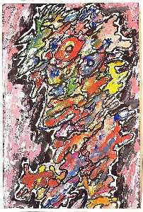 Jean Philippe Arthur Dubuffet - legendário personagens