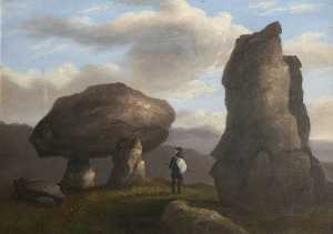 Richard Tongue - Ovelhas Tor , Dartmoor