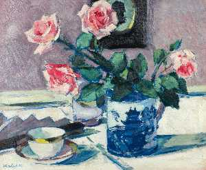 Francis Campbell Boileau Cadell - rosa rosas