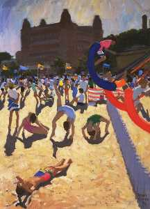 Andrew Macara - swing boats , Scarborough
