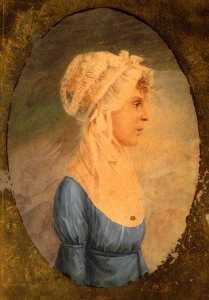 Charles Willson Peale - Maria galloway whilldin ( 1776 1815 ) , ( original )