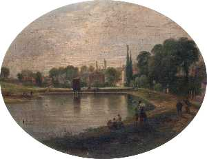Patrick Campbell Auld - lower heath Lagoa , Hampstead