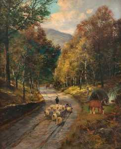 James Raeburn Middleton - onde turns o caminho , Trossachs