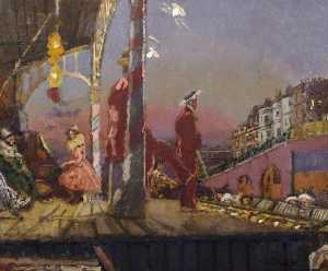Walter Richard Sickert - o brighton Pierrots