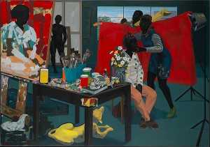 Kerry James Marshall - sem título estúdio