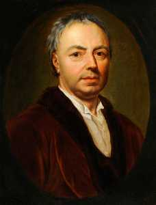 Anton Raphael Mengs - retrato do Pai do artista