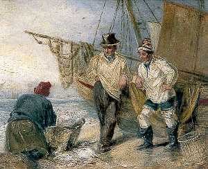 William Henry Brooke - Hastings Pescadores
