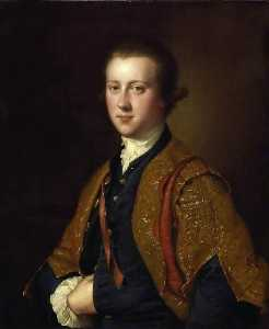 Joseph Wright Of Derby - o senhor richard fitzwilliam
