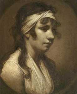 Joseph Wright Of Derby - Harriet , o Artist's Filha