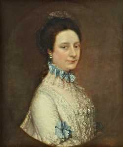 Thomas Gainsborough - sra. charlotte frere