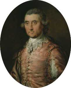 Thomas Gainsborough - sir charles holte ( 1721–1782 )