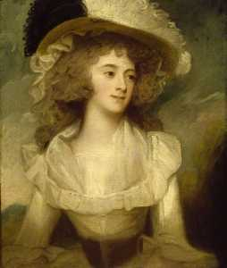 George Romney - sarah ley , mrs richard tickell ( 1770–after 1817 )