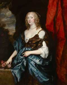 Anthony Van Dyck - catherine bruce ( d . 1649 ) , sra. william Murray