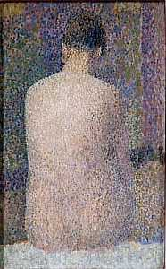 Georges Pierre Seurat - POSEUSE O DOS