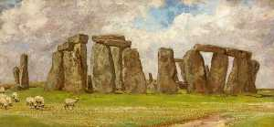 Edgar Barclay - Stonehenge do Sul Leste , Wiltshire