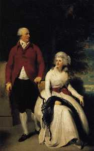 Thomas Lawrence - Senhor e sra john julius angerstein