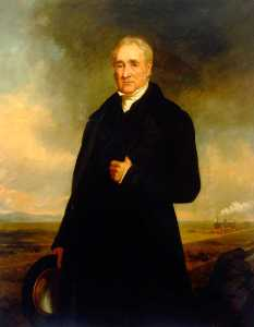Charles William Mitchell - george stephenson ( 1781–1848 ) ( cópia depois de john Lucas )