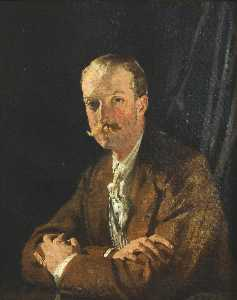 William Newenham Montague Orpen - Geoffrey , Quarto Marquês de headfort