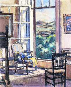 Francis Campbell Boileau Cadell - Interior , a abertura Wiindow
